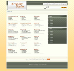 PHP Link Directory Template #2